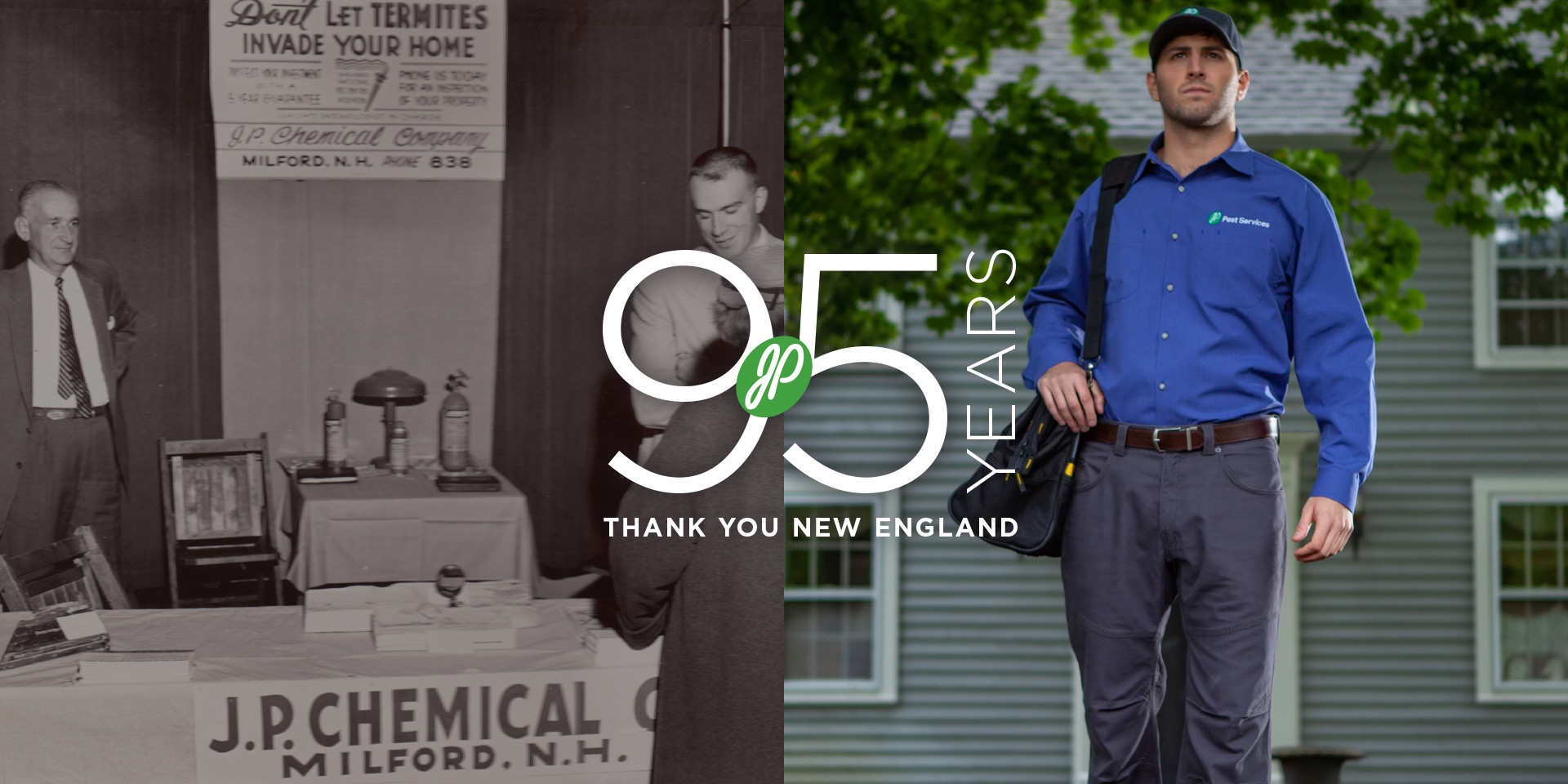 95 Years - Thank You New England
